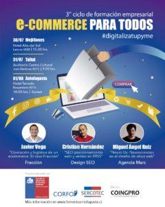 E-Commerce para todos #digitalizatupyme @ Hotel Terrado, Antofagasta.